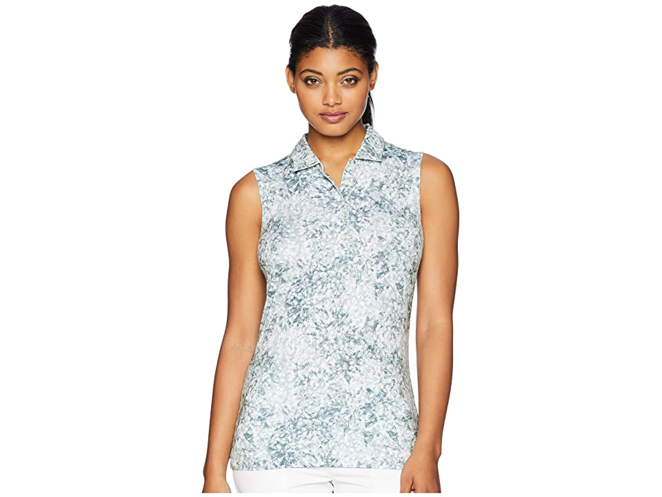 PUMA Golf - PUMA Golf Floral Sleeveless Polo