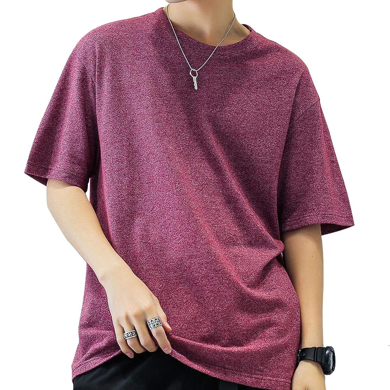 物理的な現代の統計Tシャツ 半袖 メンズ tシャツ ベーシック 夏服 七分袖 無地 通気性 おしゃれ トップス ゆったり プルオーバーッ カジュアル 大きいサイズ