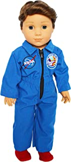 Brittany's NASA Flight Suit Compatible with American Girl Dolls- 18 Inch Doll Clothes