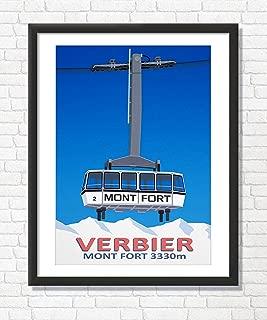 Best verbier ski poster Reviews