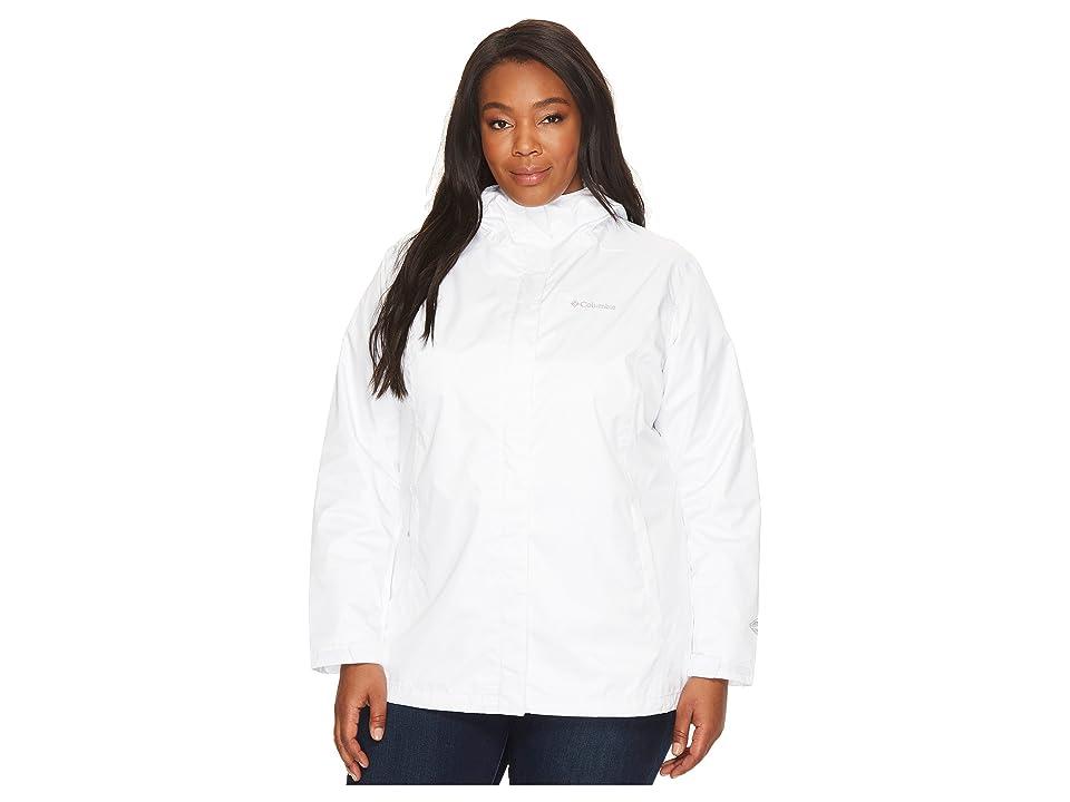 Columbia Plus Size Arcadia IItm Jacket (White/White) Women