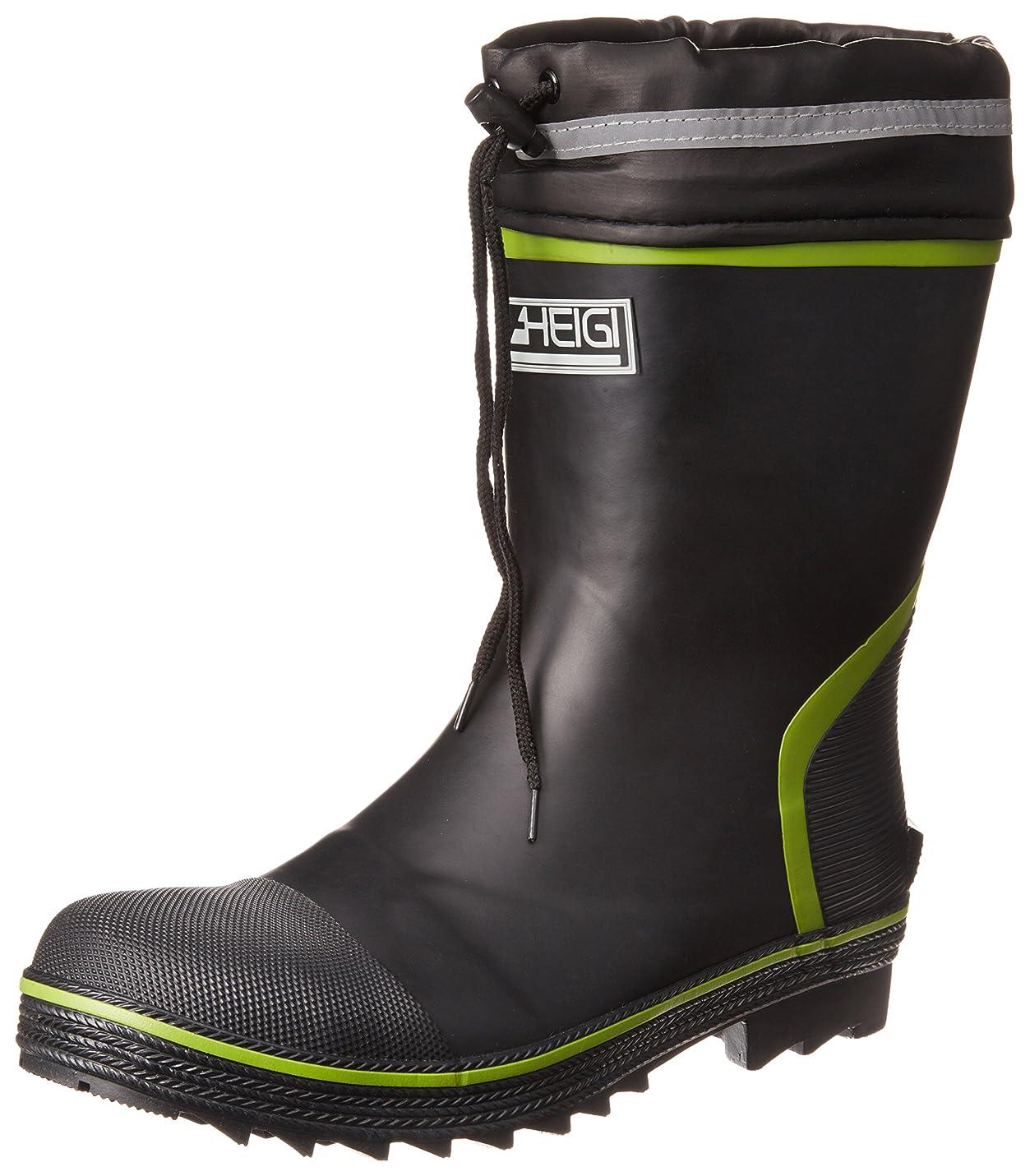エントリ自治的ローズ[ヘイギ] 安全長靴 セーフティーブーツ ショートタイプ インソール付き メンズ