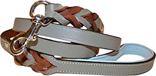 Soft Touch Collars - Luxury Handmade Braided Leather Dog Leash - The Capri Collection -