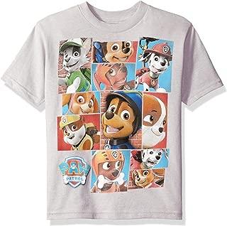 Nickelodeon Boys' Little Boys' Paw Patrol Short-Sleeved T-Shirt
