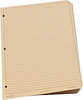 "Rite In The Rain Weatherproof Loose Leaf Paper, 8.5"" x 11"", 32# Tan, Universal Pattern, 100 Sheet Pack (No. 982T-MX)"