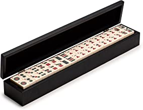 Yellow Mountain Imports Wooden Case (Box) for American Mahjong (Mah Jong, Mahjongg, Mah-Jongg, Mah Jongg, Majiang) Tiles, Case Only