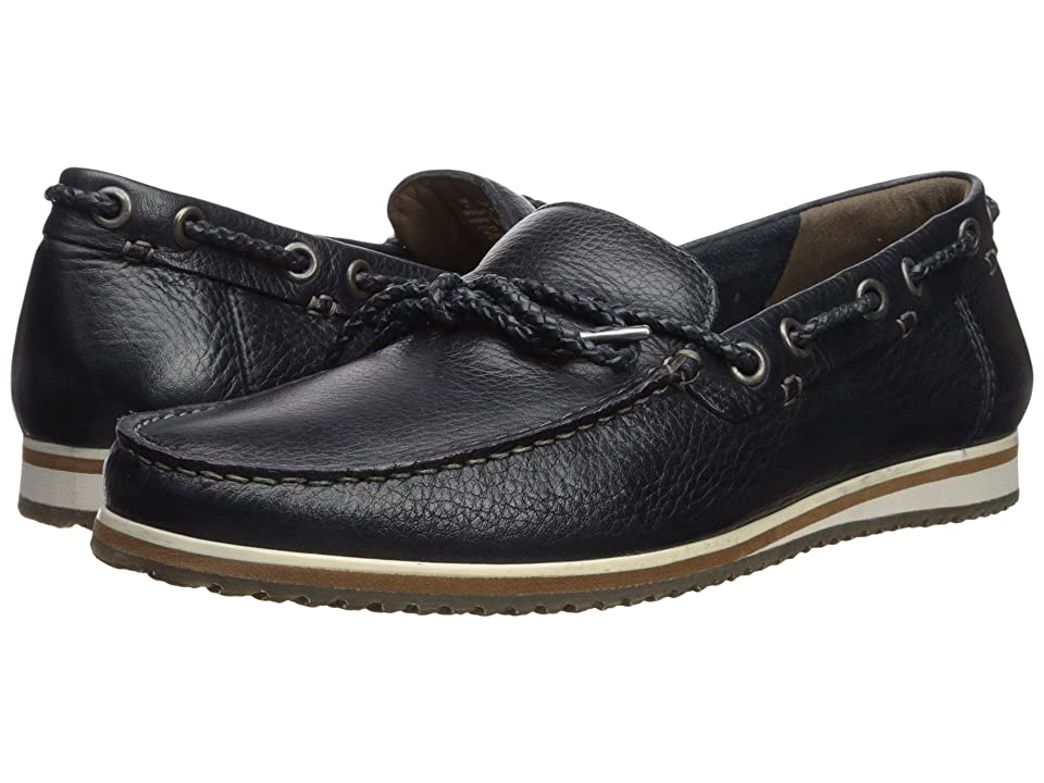 Hush Puppies Bolognese Rope Lace (Navy Leather) Men