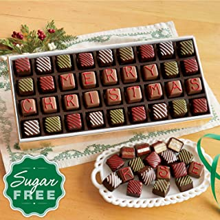 Sugar-Free 'Merry Christmas' Petits Fours from The Swiss Colony