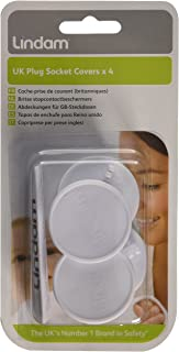 Lindam Socket Covers - pack of 4