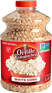 Orville Redenbacher's Original Gourmet White Popcorn Kernels, 30 Ounce, Pack of 6