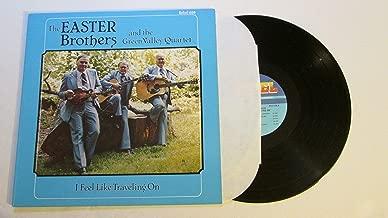 EASTER BROTHERS - i feel like traveling on REBEL 1595 (LP vinyl record)
