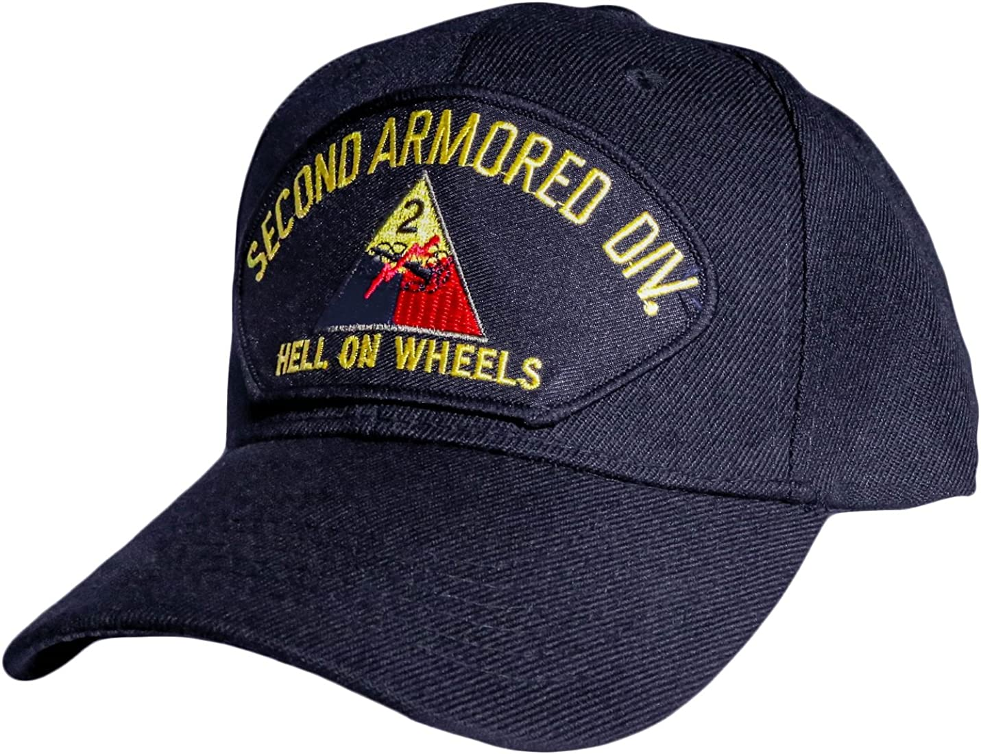2nd Armored Division Cap Black
