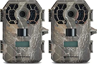 Stealth Cam G42NG 10MP No-Glow Trail Camera Bundle (2 Items)