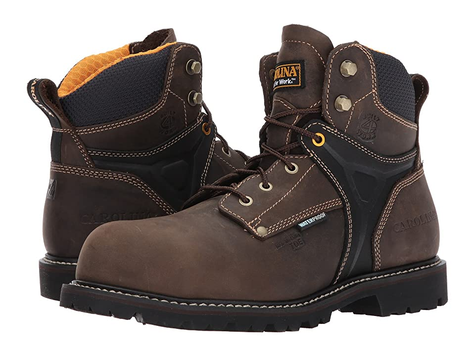 Carolina Hauler Lo 6 Waterproof Composite Toe CA6531 (Brown) Men