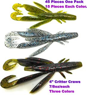 Wtrees #2710 Best Fishing Soft Baits Kits Plastic
