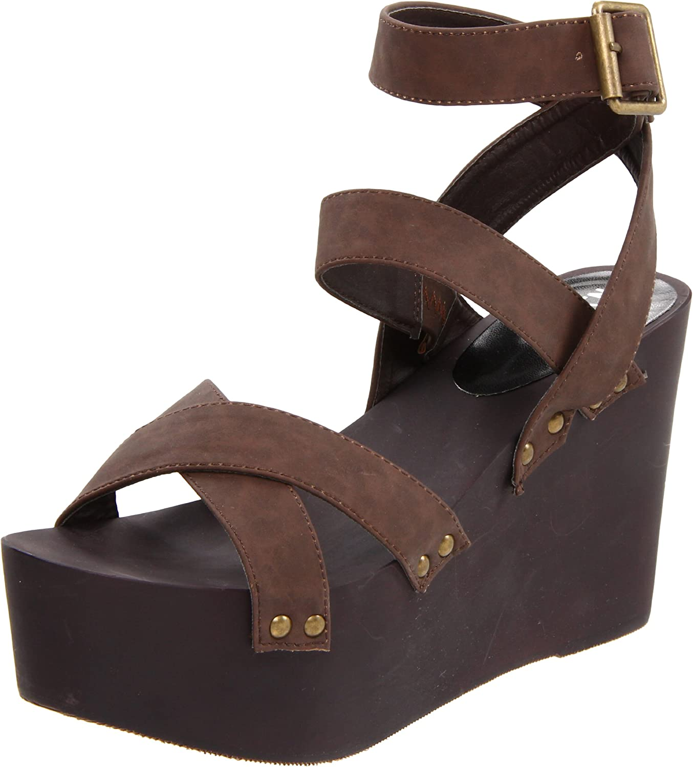 N.Y.L.A. Women's Free shipping anywhere in the nation Phoenix Mall Nema Sandal -Strap Ankle