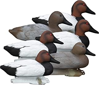 Higdon Outdoors Standard Canvasback Duck Decoys, Foam Filled