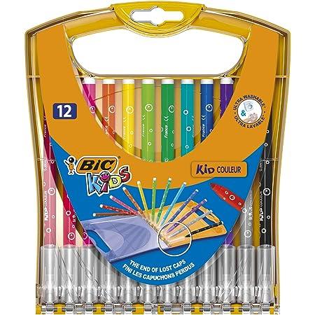 ビック BICKIDS カラーペン レインボーケース 12色 BKRB12E