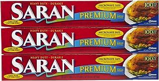 Saran Premium Plastic Wrap - 100 ft - 3 pk