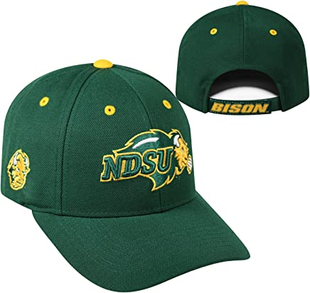 promo code b39c8 84d9d North Dakota State Bison Top of the World Triple Threat Hat Green
