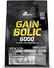 Olimp Gain Bolic 6000 Bag Mass Gainer Supplement Chocolate 1kg Estimated Price : £ 10,53
