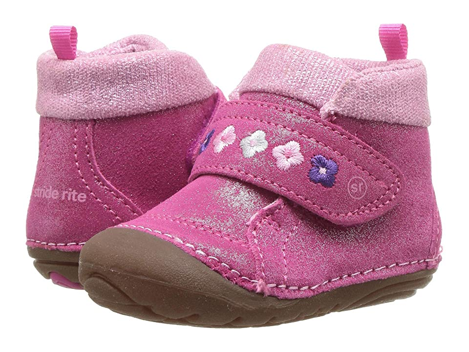 Stride Rite Soft Motion Sophie (Infant/Toddler) (Fuchsia Suede) Girls Shoes