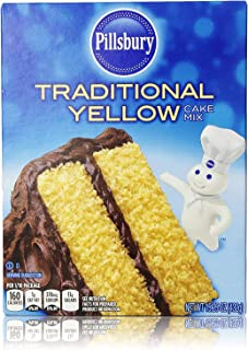 Pillsbury Traditional Yellow Cake Mix 15.25 Oz (Pack of 2)