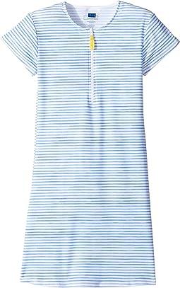 Blue Rashguard Dress (Infant/Toddler/Little Kids/Big Kids)