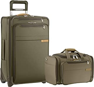 Briggs & Riley Baseline Domestic Carry-On Set (Olive)