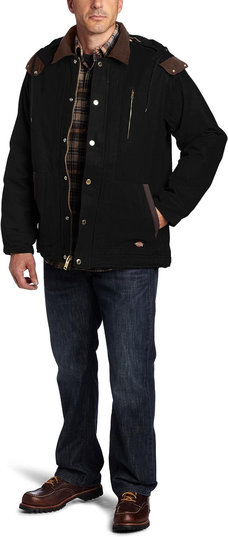 Dickies Men's Sanded Duck Detachable Hooded Jacket
