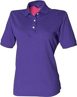 Henbury Womens/Ladies Classic Polo Shirt