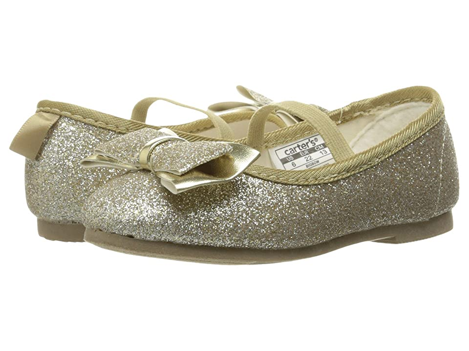 Carters Bigbow (Toddler/Little Kid) (Light Gold Glitter) Girl