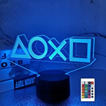 Game Player Gifts, Game Room LED Light with Remote+16 Colors + Flashing+USB Power, Bedroom Decoration for Video Game Lover...