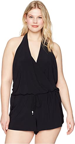 Plus Size Solid Bianca One-Piece