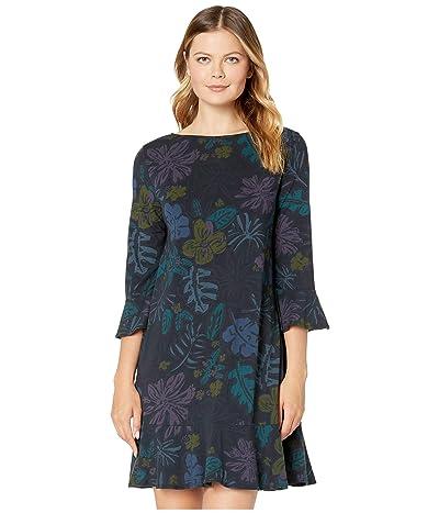 Fresh Produce Sketched Flora Kira Dress (Black) Women