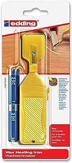 Edding 4-8903-1-4 - Utensilio para derretir cera restauradora para tablas de madera (funciona a pilas)