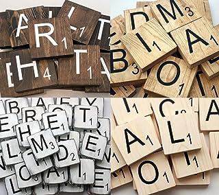 """Large Scrabble Tile - Large Wood Scrabble Letter - 3.5"""" Tile"""