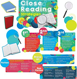 Edupress Close Reading Strategies Bulletin Board Set (EP60237)