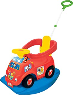 Kiddieland Toys Limited Disney Mickey 4-in-1 Drive Along Ride On