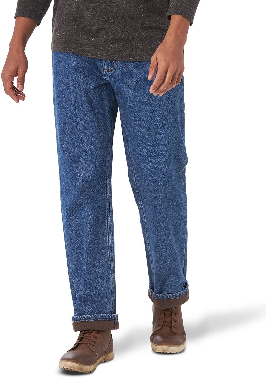 Wrangler Authentics Men's Fleece Pant Lined 5 Sales sale of SALE items from new works Pocket