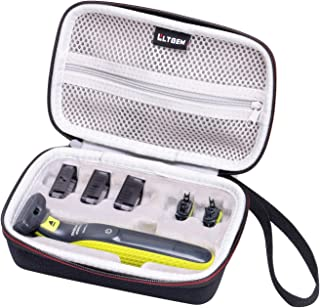 LTGEM Hard Travel Carrying Case for Philips Norelco OneBlade Hybrid Electric Trimmer and Shaver, FFP, QP2630/70 QP2520/90 QP2520/70