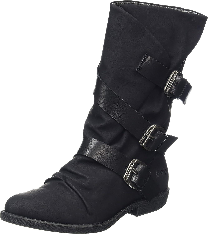 Blowfish Malibu Alms - Black Texas (Man-Made) Womens Boots