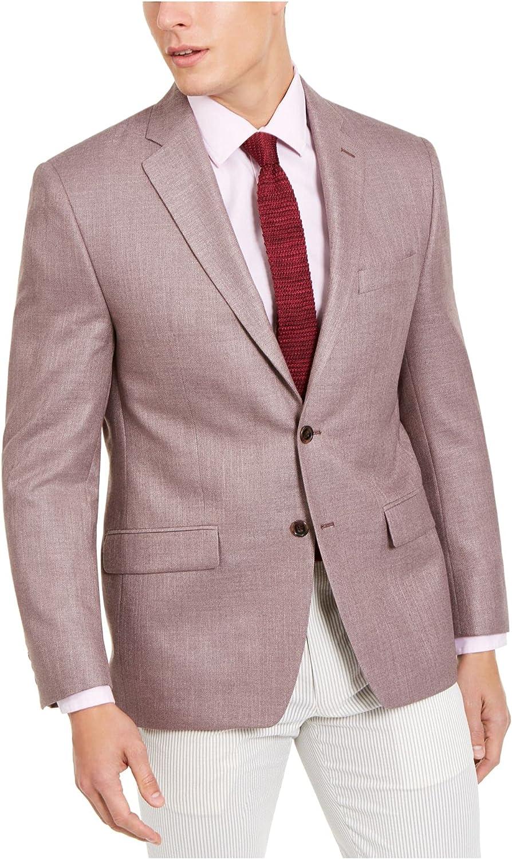 Lauren by Ralph Lauren Mens Suit Seperate R Blazer Flex$295 Pink 38