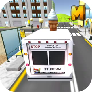 IceCream Delivery Truck Sim 3D