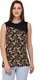 Espresso Women's Printed Dress - Black.