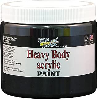 Handy Art Nu Master Heavy Body Acrylic Paint 16 ounce, Mars Black