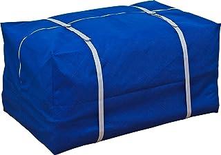 アストロ 布団収納袋 布団一式保管 ブルー 不織布 ベルト・送り状ポケット付 192-02