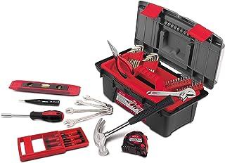 مجموعة أدوات منزلية مكونة من 53 قطعة من Apollo Tools DT9773 مع مفاتيح ربط، ومجموعة مفكات دقيقة ومعظمها يمكن الوصول إليها ل...