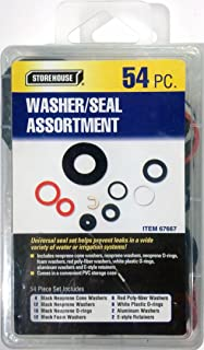 54 Piece Washers and Seals Kit with Storage Case