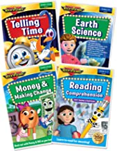 2nd Grade DVD Collection by Rock N Learn - Reading Comprehension, Telling Time, Money & Making Change, and Earth Science
